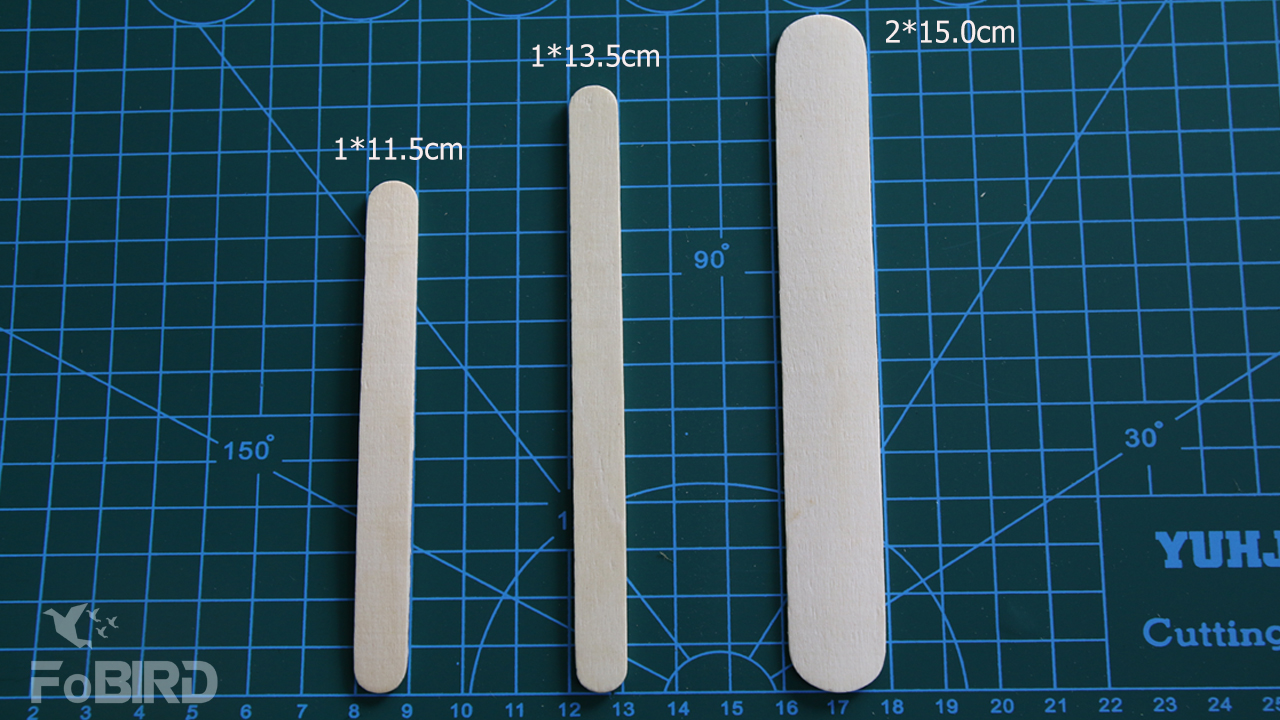 Popsicle stick size