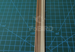 Wooden sticks - 2.5mm*50cm - 1kg