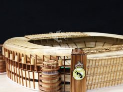 Real Madrid logo for Bernabeu stadium model