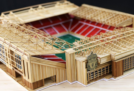 Liverpool logo for the Anfield stadium model