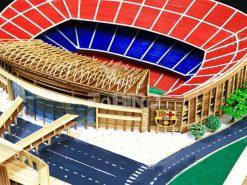 Barca logo for the Camp-nou stadium model