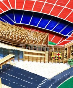 Barca logo for the Camp-nou stadium model