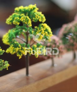 The tree has a yellow flower size of 7.0cm