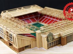 The Anfield stadium of Liverpool model