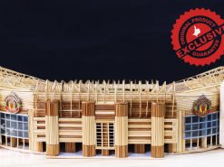The Old Trafford stadium of MU model
