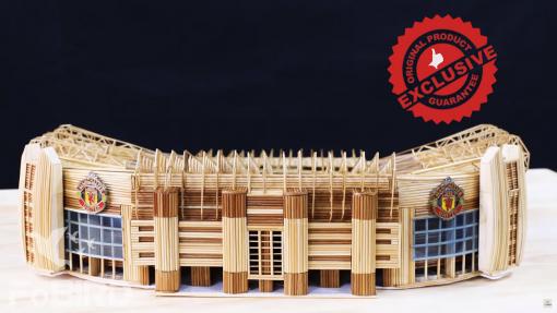 The Old Trafford stadium of MU model