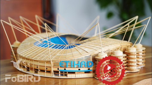The Etihad stadium of MC model