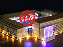 The Goodison Park stadium of Everton FC model