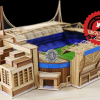 The Stamford Bridge stadium of Chelsea FC model