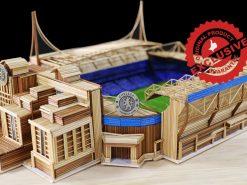 The Stamford Bridge stadium of Chelsea FC model