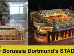 Borussia Dortmund stadium model