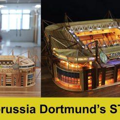 Borussia Dortmund stadium model