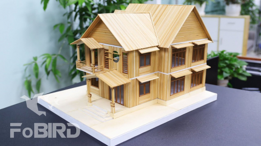 How to make a wooden stick house easily for beginners